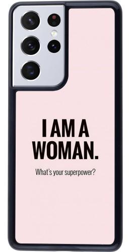 Coque Samsung Galaxy S21 Ultra 5G - I am a woman