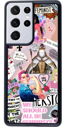 Coque Samsung Galaxy S21 Ultra 5G - Girl Power Collage