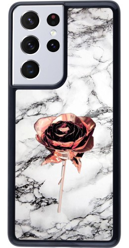 Coque Samsung Galaxy S21 Ultra 5G - Marble Rose Gold