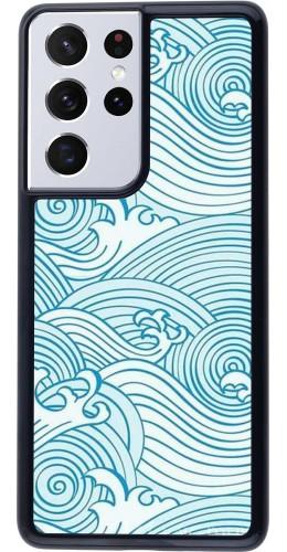 Coque Samsung Galaxy S21 Ultra 5G - Ocean Waves