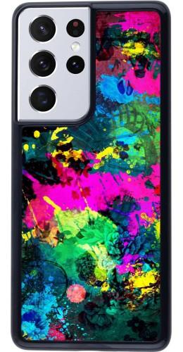 Coque Samsung Galaxy S21 Ultra 5G - splash paint