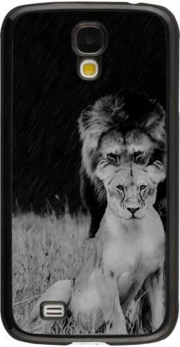 Coque Galaxy S4 - Angry lions