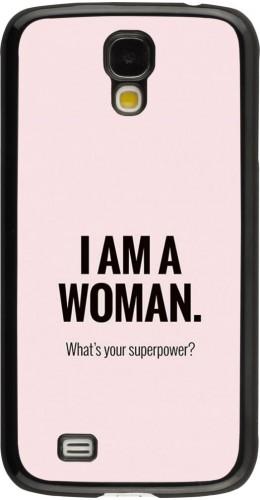 Coque Samsung Galaxy S4 - I am a woman