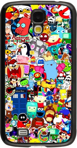 Coque Samsung Galaxy S4 - Mixed cartoons