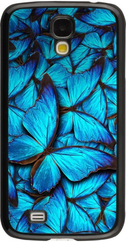 Coque Galaxy S4 - Papillon bleu