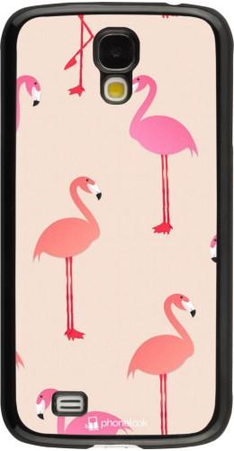 Coque Samsung Galaxy S4 - Pink Flamingos Pattern