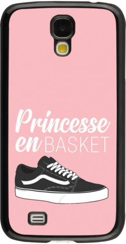 Coque Samsung Galaxy S4 - princesse en basket
