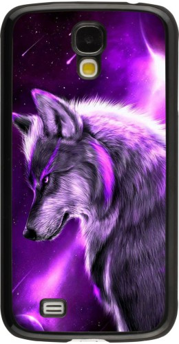 Coque Samsung Galaxy S4 - Purple Sky Wolf