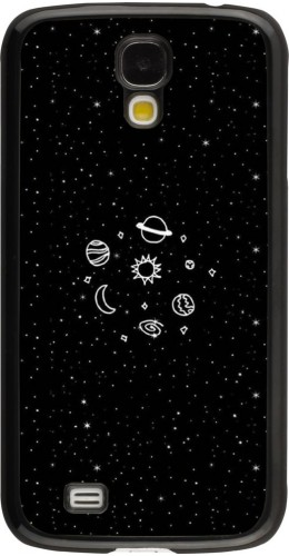 Coque Galaxy S4 - Space Doodle
