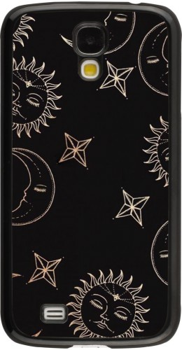 Coque Samsung Galaxy S4 - Suns and Moons