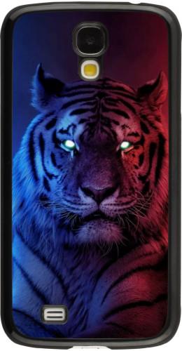 Coque Samsung Galaxy S4 - Tiger Blue Red