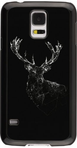 Coque Galaxy S5 - Abstract deer