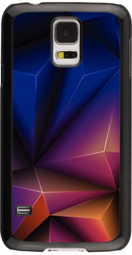 Coque Samsung Galaxy S5 - Abstract triangles