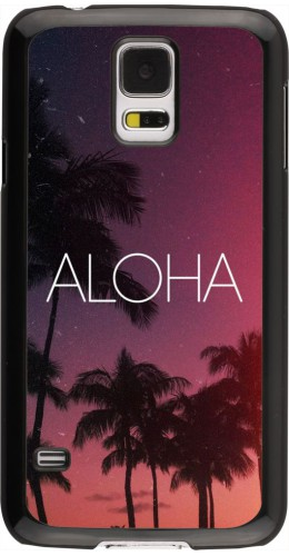 Coque Samsung Galaxy S5 - Aloha Sunset Palms