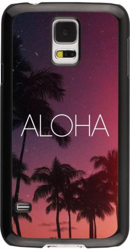 Coque Samsung Galaxy S5 - Aloha Sunset Palms