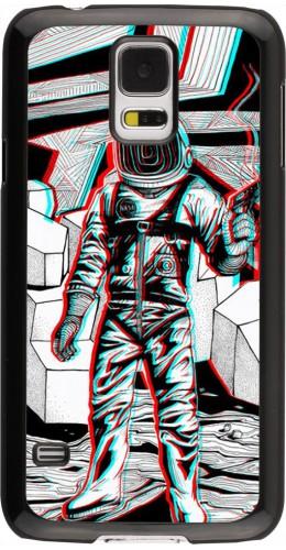 Coque Samsung Galaxy S5 - Anaglyph Astronaut