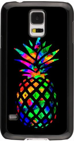 Coque Samsung Galaxy S5 - Ananas Multi-colors