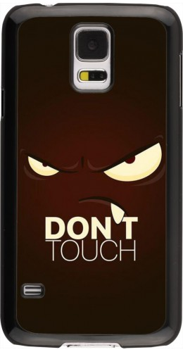 Coque Samsung Galaxy S5 - Angry Dont Touch
