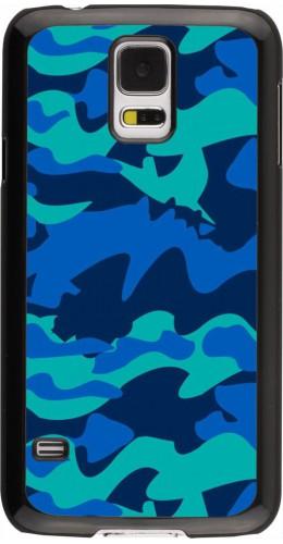 Coque Samsung Galaxy S5 - Camo Blue