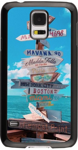 Coque Samsung Galaxy S5 - Cool Cities Directions