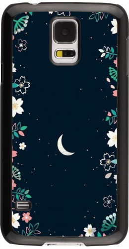Coque Samsung Galaxy S5 - Flowers space