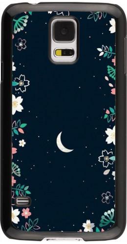 Coque Samsung Galaxy S5 - Flowers space