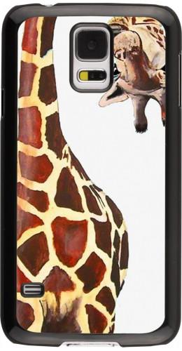 Coque Samsung Galaxy S5 - Giraffe Fit