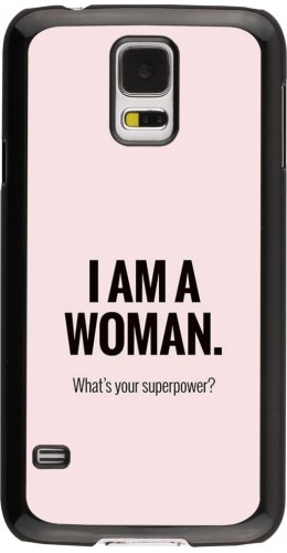 Coque Samsung Galaxy S5 - I am a woman