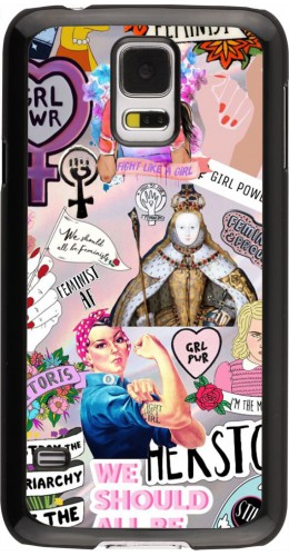 Coque Samsung Galaxy S5 - Girl Power Collage