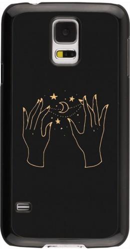 Coque Samsung Galaxy S5 - Grey magic hands