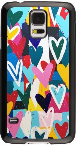 Coque Samsung Galaxy S5 - Joyful Hearts