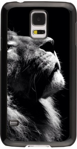 Coque Galaxy S5 - Lion looking up