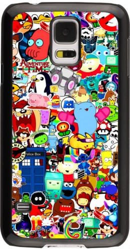 Coque Samsung Galaxy S5 - Mixed cartoons