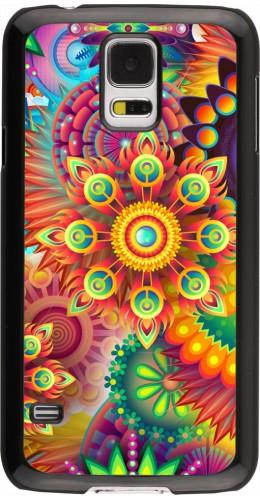 Coque Samsung Galaxy S5 - Multicolor aztec