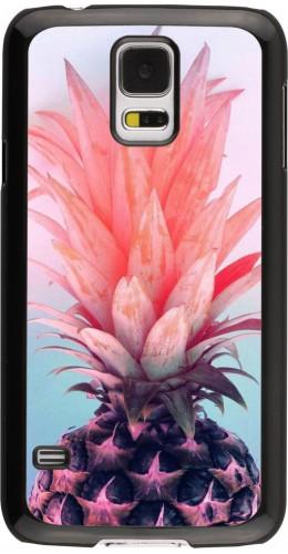 Coque Samsung Galaxy S5 - Purple Pink Pineapple