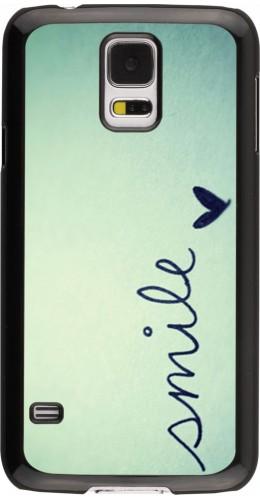 Coque Galaxy S5 -  Smile
