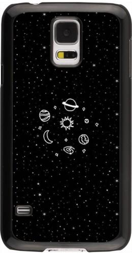 Coque Galaxy S5 - Space Doodle