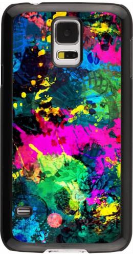 Coque Samsung Galaxy S5 - splash paint