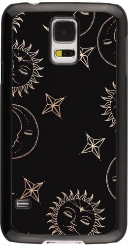 Coque Samsung Galaxy S5 - Suns and Moons