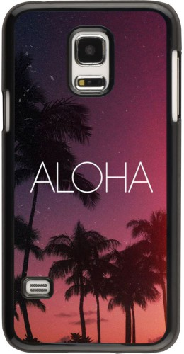 Coque Samsung Galaxy S5 Mini - Aloha Sunset Palms