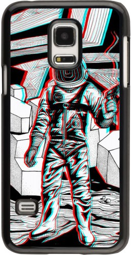 Coque Samsung Galaxy S5 Mini - Anaglyph Astronaut
