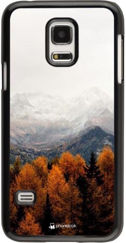 Coque Samsung Galaxy S5 Mini - Autumn 21 Forest Mountain