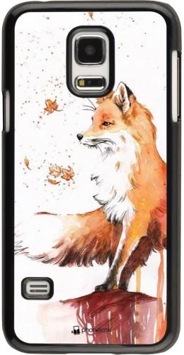Coque Samsung Galaxy S5 Mini - Autumn 21 Fox