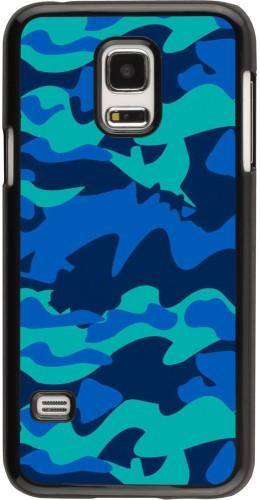 Coque Samsung Galaxy S5 Mini - Camo Blue