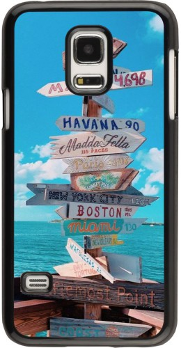 Coque Samsung Galaxy S5 Mini - Cool Cities Directions