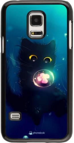 Coque Samsung Galaxy S5 Mini - Cute Cat Bubble