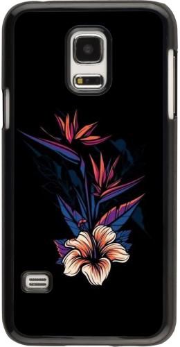 Coque Samsung Galaxy S5 Mini - Dark Flowers
