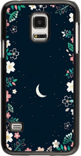 Coque Samsung Galaxy S5 Mini - Flowers space