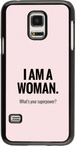 Coque Samsung Galaxy S5 Mini - I am a woman