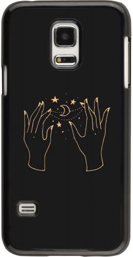 Coque Samsung Galaxy S5 Mini - Grey magic hands